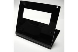 20x4 Acrylic LCD Stand Black