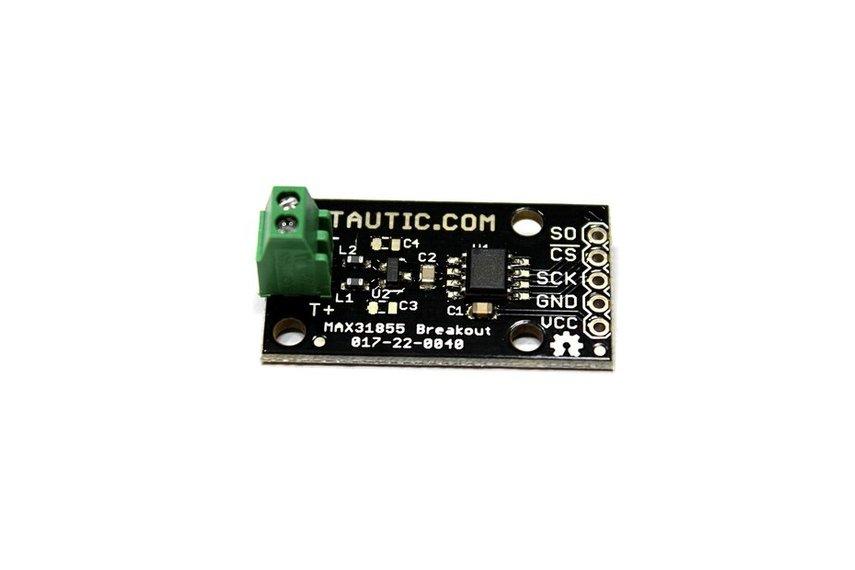 MAX31855 Thermocouple to Digital Converter