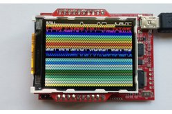 Color LCD Booster Pack (320x240 with microSD card socket)