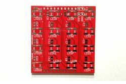 WS2812B (WS2811/5050) RGB LED 4x4 Matrix Booster Pack PCB