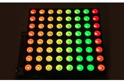 8x8 RGB Matrix Booster Pack PCB