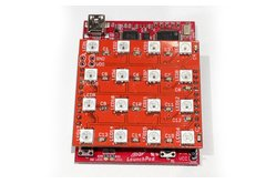 WS2812 (WS2811/5050) RGB LED 4x4 Matrix Booster Pack PCB