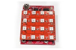 WS2812 RGB LED 4x4 Matrix Booster Pack PCB