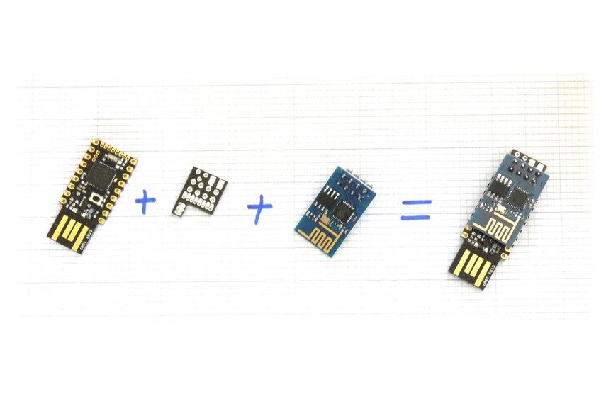 Espruino Pico ESP8266 WiFi Shim
