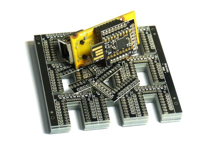 Espruino Pico WIZnet W550io Ethernet Shim