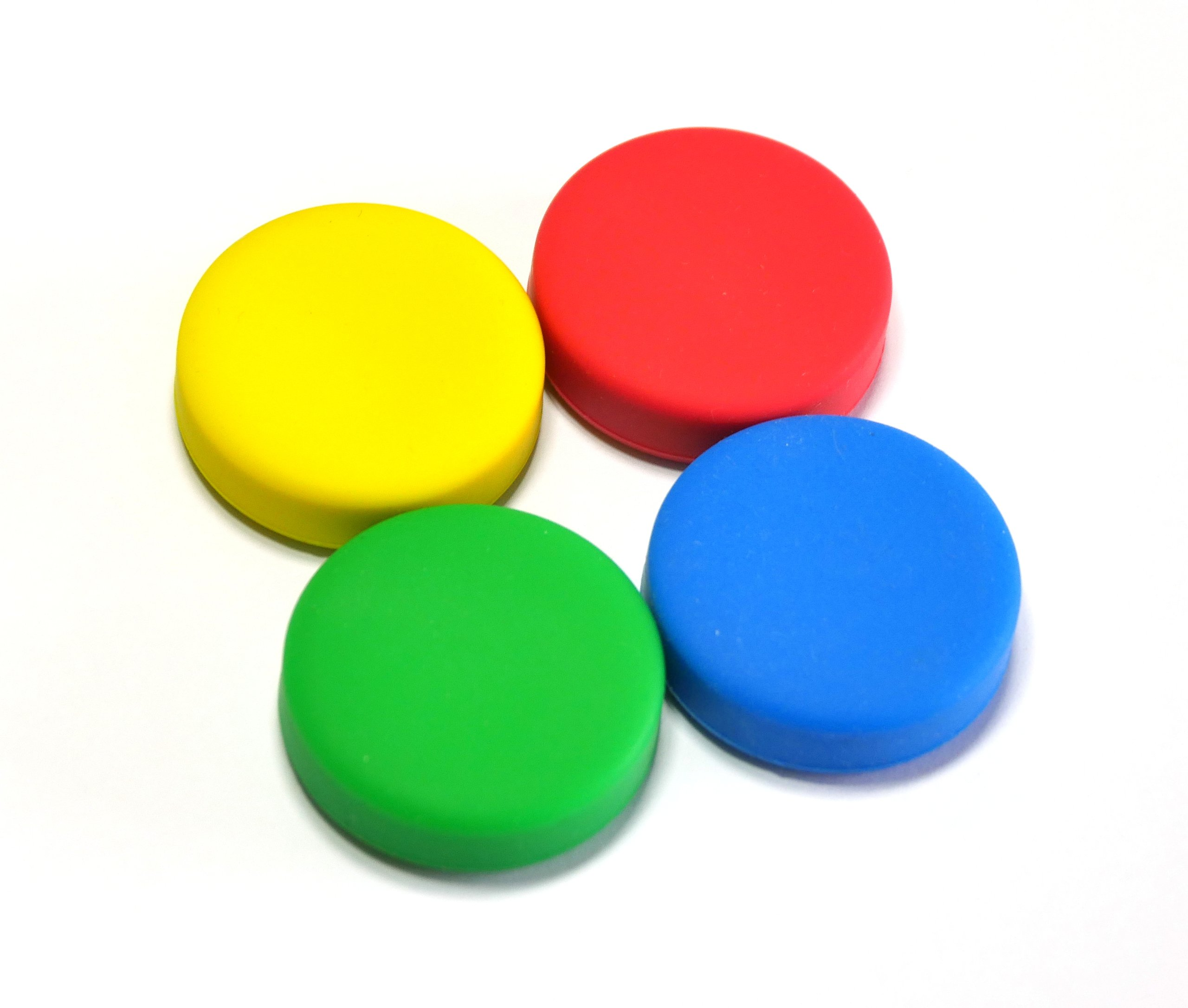 puck js cases  red  yellow  green  blue  from gfwilliams