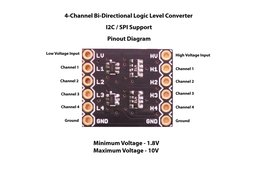 4-Channel Bi-Directional Logic Level Converter