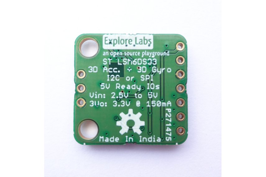 Lsm6ds33 3d Accelerometer 3d Gyroscope Board From