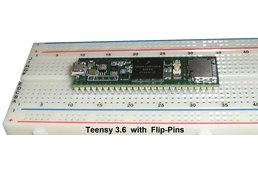 Flip-Pins for Teensy 3.5 or 3.6 (4 sets)