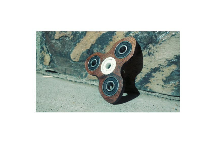 Turbine Wooden EDC Hand Spinner Fidget Toy