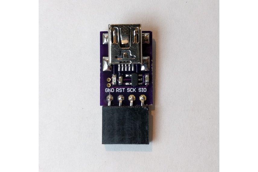 CMSIS-DAP Compliant SWD Debugger