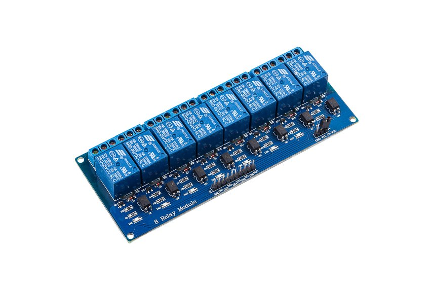 8-Channel 5V Relay