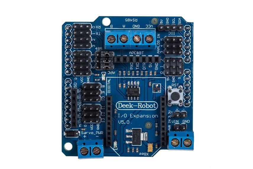 Arduino Xbee IO Expansion Sensor Shield