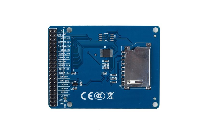"2.4"" TFT LCD Touch"