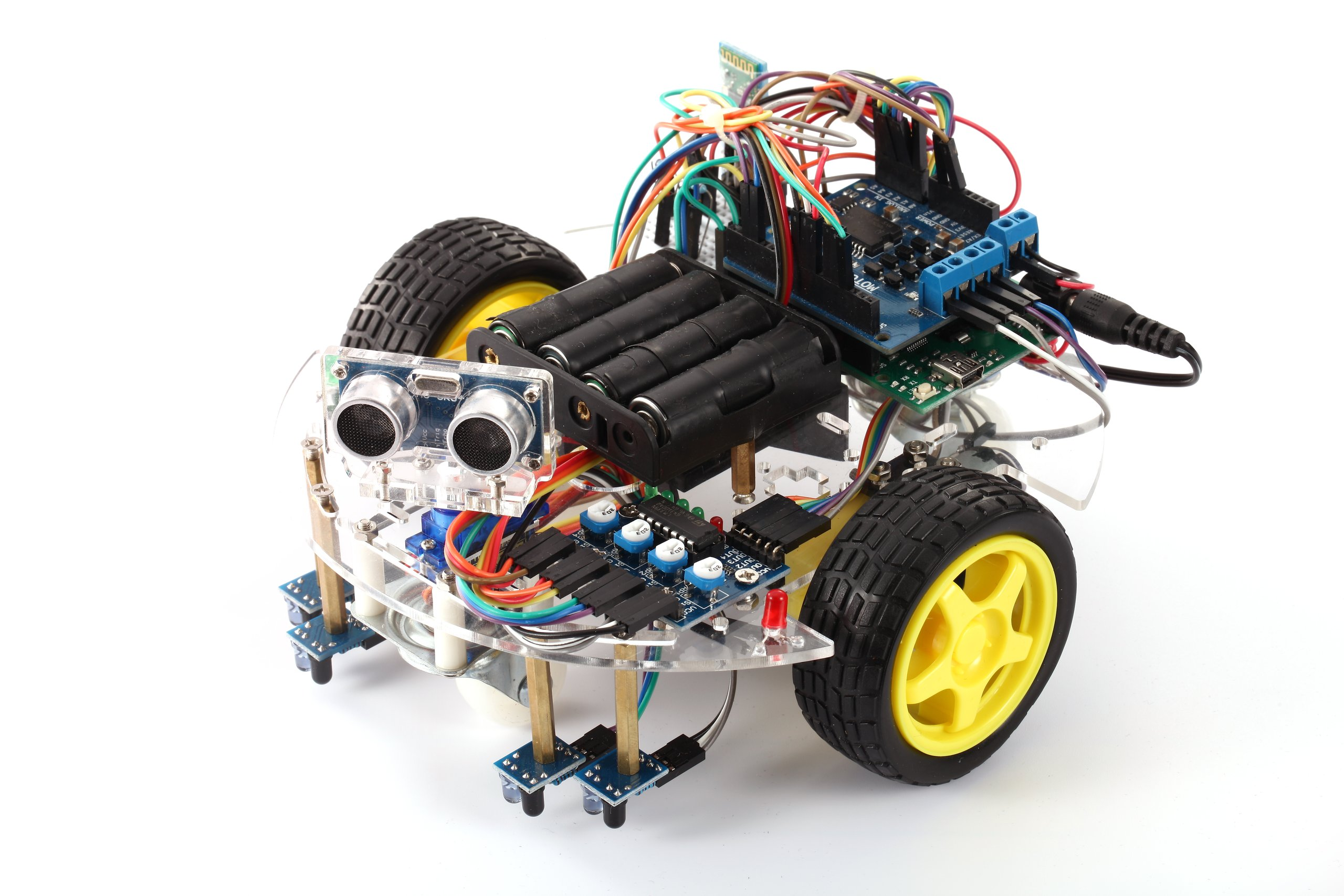 Arduino starter kit ebot z smart car robot chassis from
