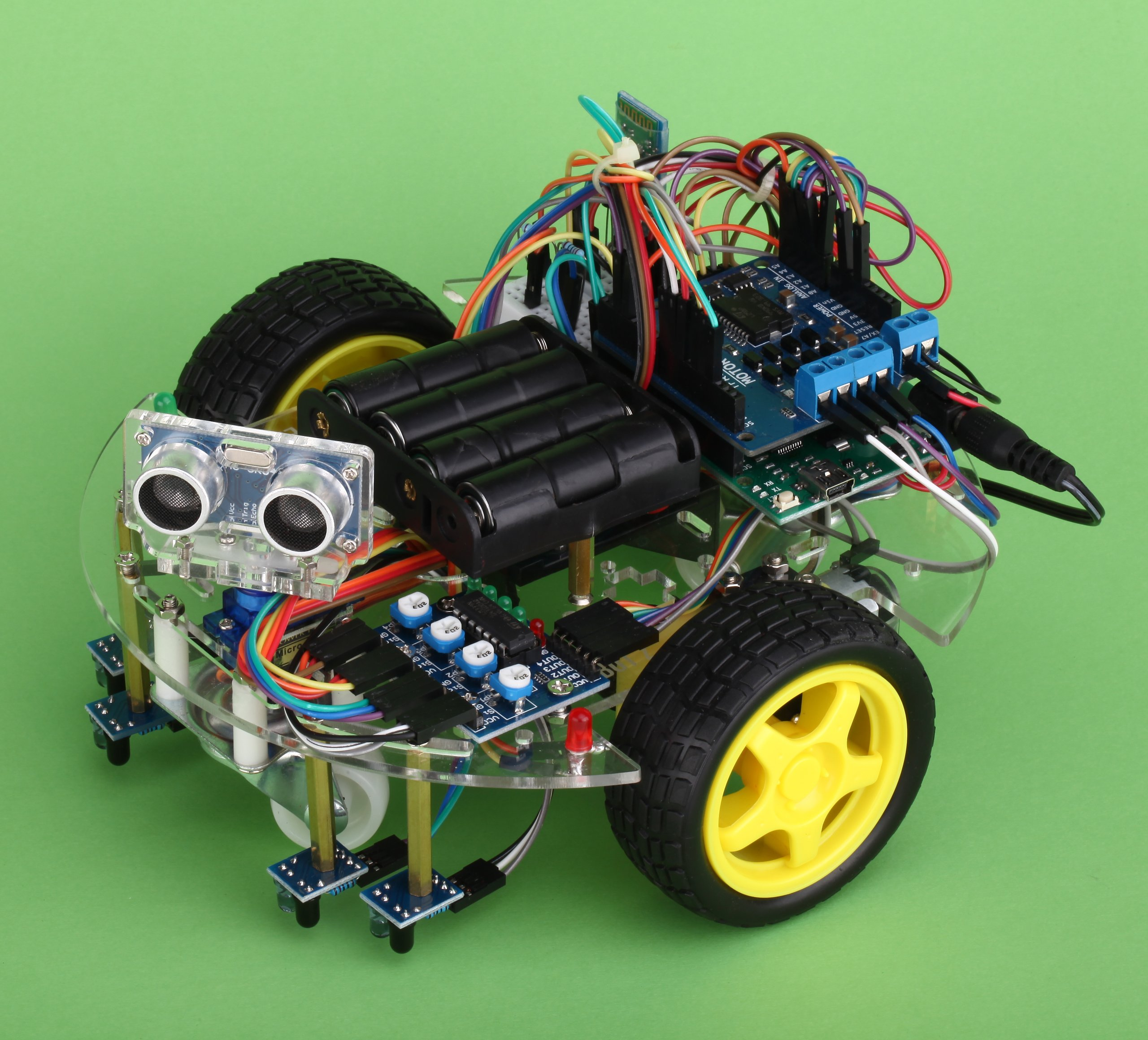 Arduino starter kit ebot z smart car robot chassis from