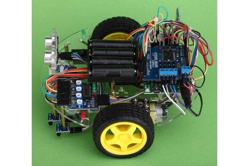 Arduino Starter Kit eBOT Z Smart Car Robot Chassis