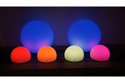 "Brighttone BTRGB100 - 10"" Music activated RGB LED Ball"