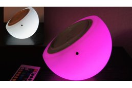 "Brighttone 6"" music activated RGB LED Mini Moon"