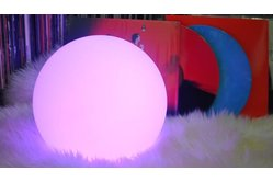 "Brighttone BTRGB100 - 12"" Music activated RGB LED Ball"