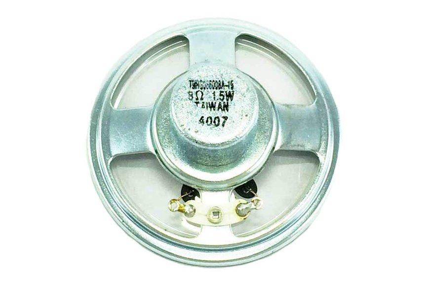 Transparent Speaker Driver TMRG066008A-15, 1.5W, 8