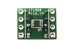 DFN-8 to DIP-8 SMT Adapter 0.5 mm pitch, (3-pack)