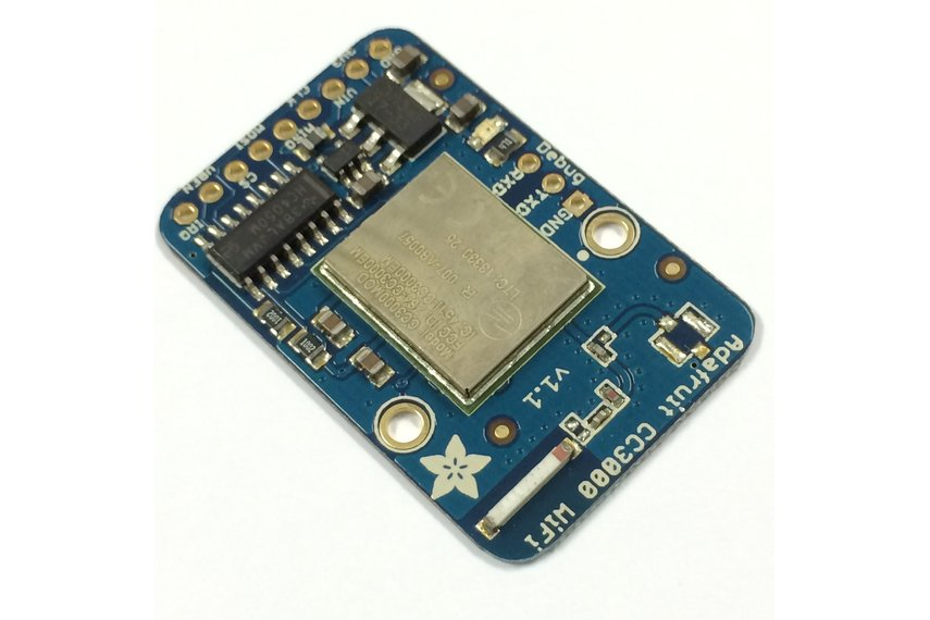 Adafruit HUZZAH CC3000 WiFi Breakout w/ Antenna