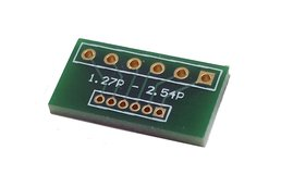 2.54mm Pitch to 1.27mm Pitch 6-pin Adapters