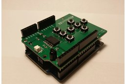 Infrared Remote Control Shield for Arduino