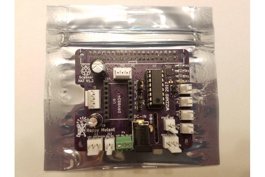 3D Scanner HAT for Raspberry Pi