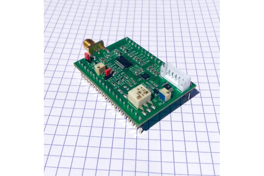 Ultrasound imaging analog processing module