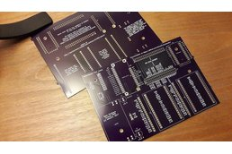 Ultrasound modules motherboard