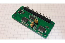 20Msps+ ADC cape for Raspberry Pi