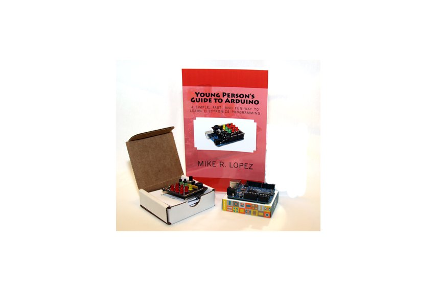 Young person s guide to arduino kit from avocadoelec on tindie