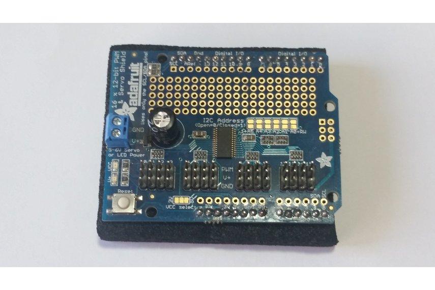 Adafruit 16 Channel Servo Shield
