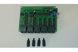 PiRyte Multi-S Extended I/O for Model Railroading