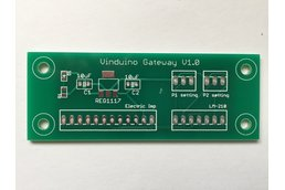 Vinduino Low-Cost LoRaLAN Gateway PCB