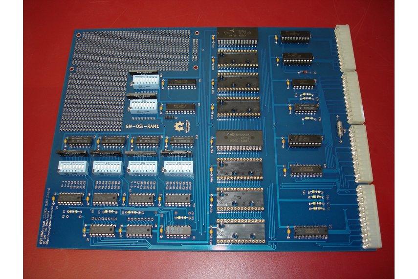 Glitch Works GW-OSI-RAM1 OSI Universal RAM Board