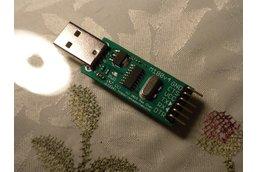 Fused USB to UART adapter (3.3V and 5V, M180/1v4)