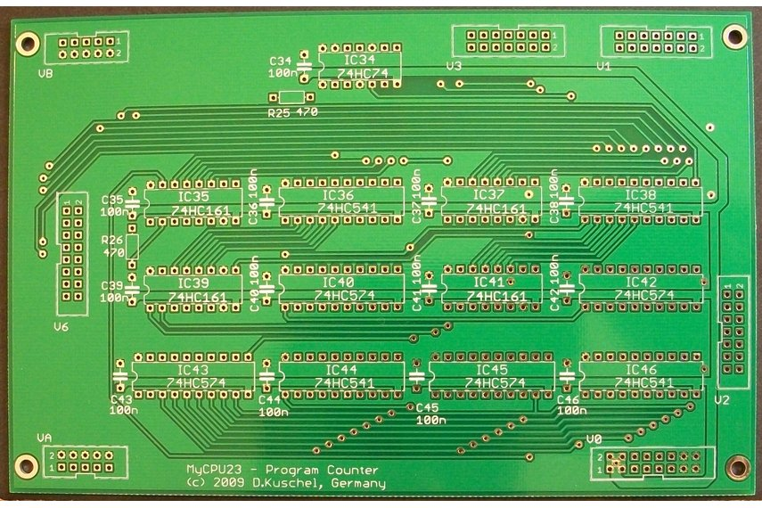MyCPU - Set of Blank Printed Circuit Boards
