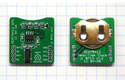 MCP79411/MCP79412 Real-Time Clock/Calendar Breakout Board