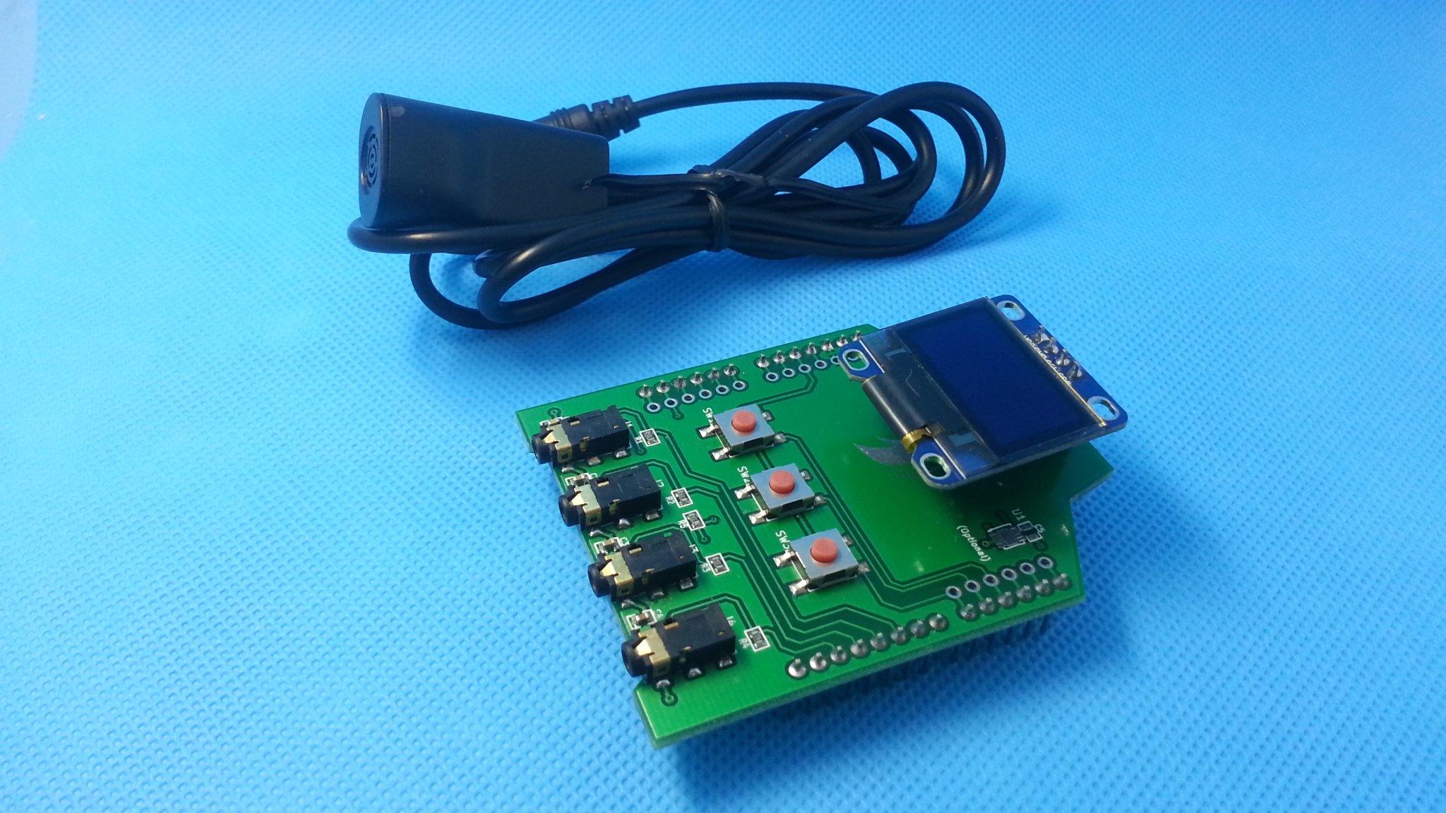 Iot arduino temperature humidity shield probe from