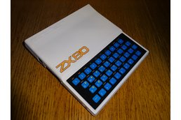 Minstrel ZX80 Clone in White ZX81 case