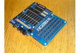 Minstrel ZX80 Clone with RC2014 keyboard