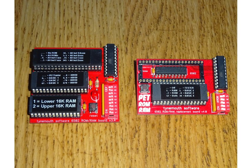 ROM/RAM replacement board for Commodore PET