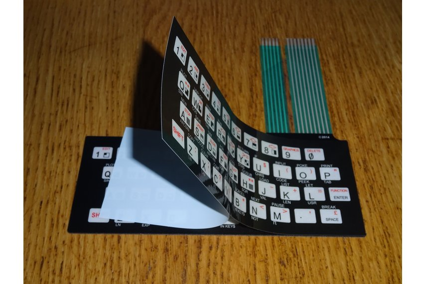 Keyboard membranes / overlays for TS1000/ZX80/ZX81