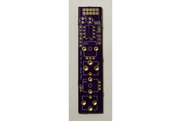 Resonant high-pass filter PCB for Eurorack systems