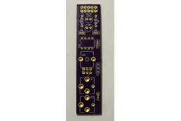 Resonant low-pass filter PCB for Eurorack systems