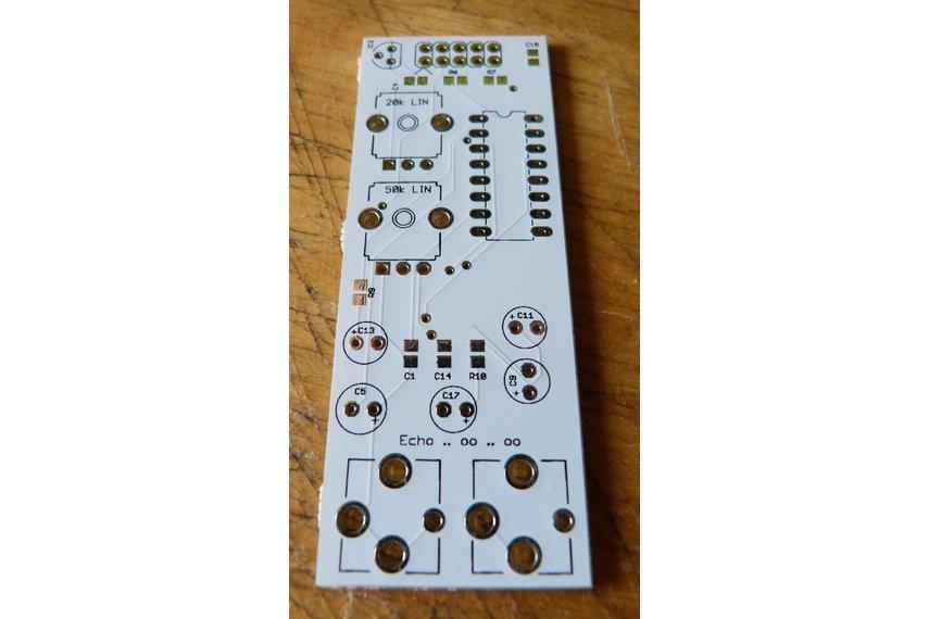 PT2399 digital echo/delay PCB for Eurorack systems