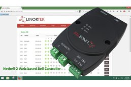 Netbell-2 TCP/IP Ethernet Bell Ringer 500 Schedule